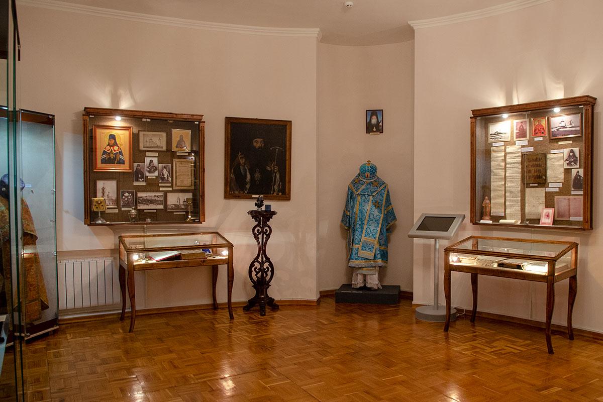 Среди сословных разделов музей Ульянова организовал и посвященный религии, как весомой составляющей общественной жизни.