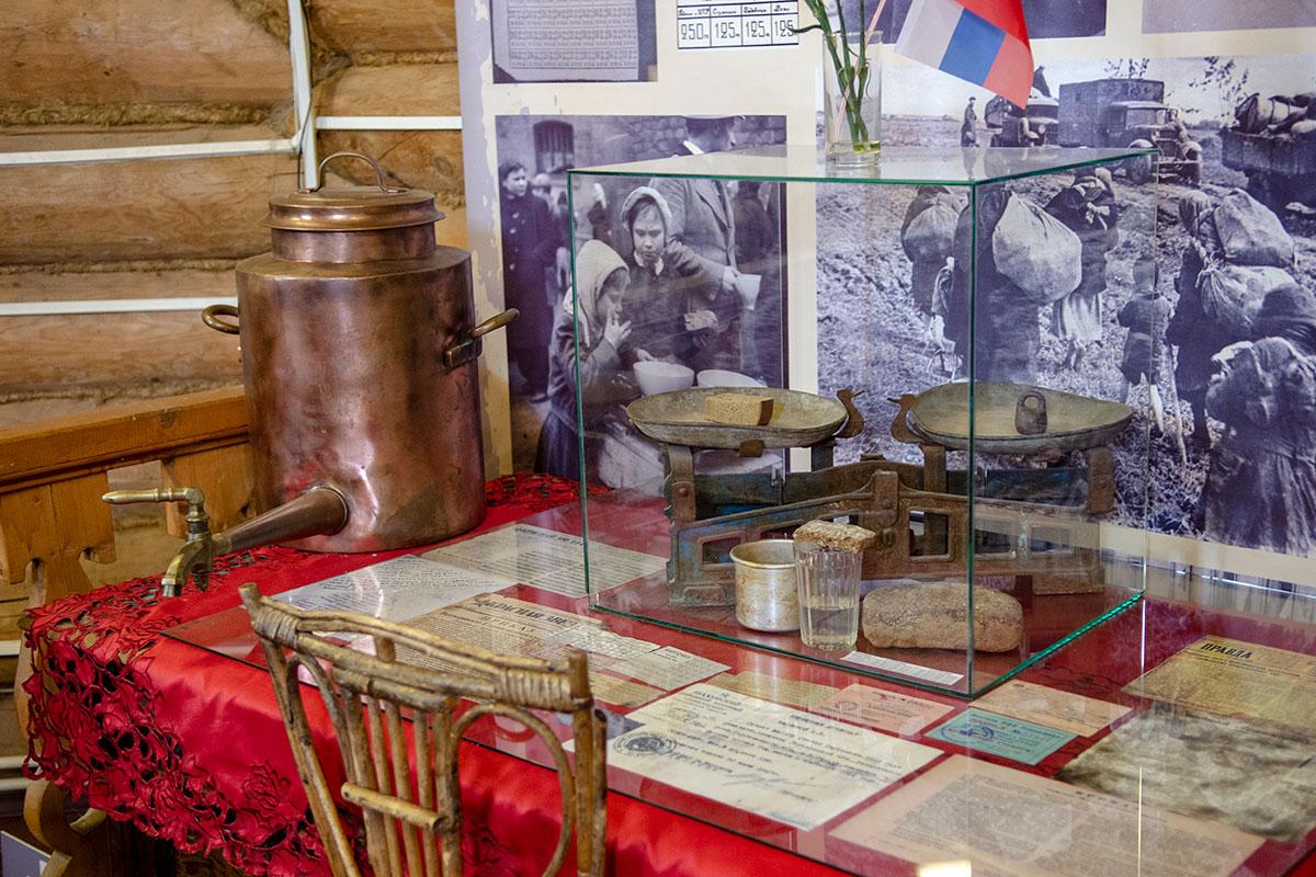 Самые сильные эмоции посетителей Музея хлеба в Измайловском Кремле вызывает экспозиция о годах Великой Отечественной войны в блокированном Ленинграде.