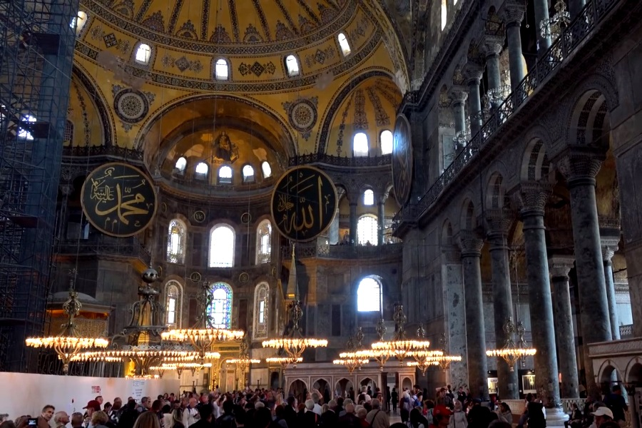 Президент Турции жестко ответил тем, кто критикует новый статус собора Святой Софии