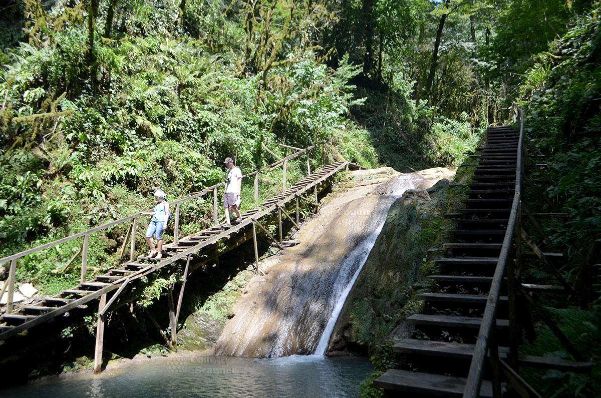 33 водопада. Туристические тропы.