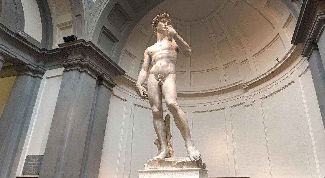 Статуя Давид во Флоренции