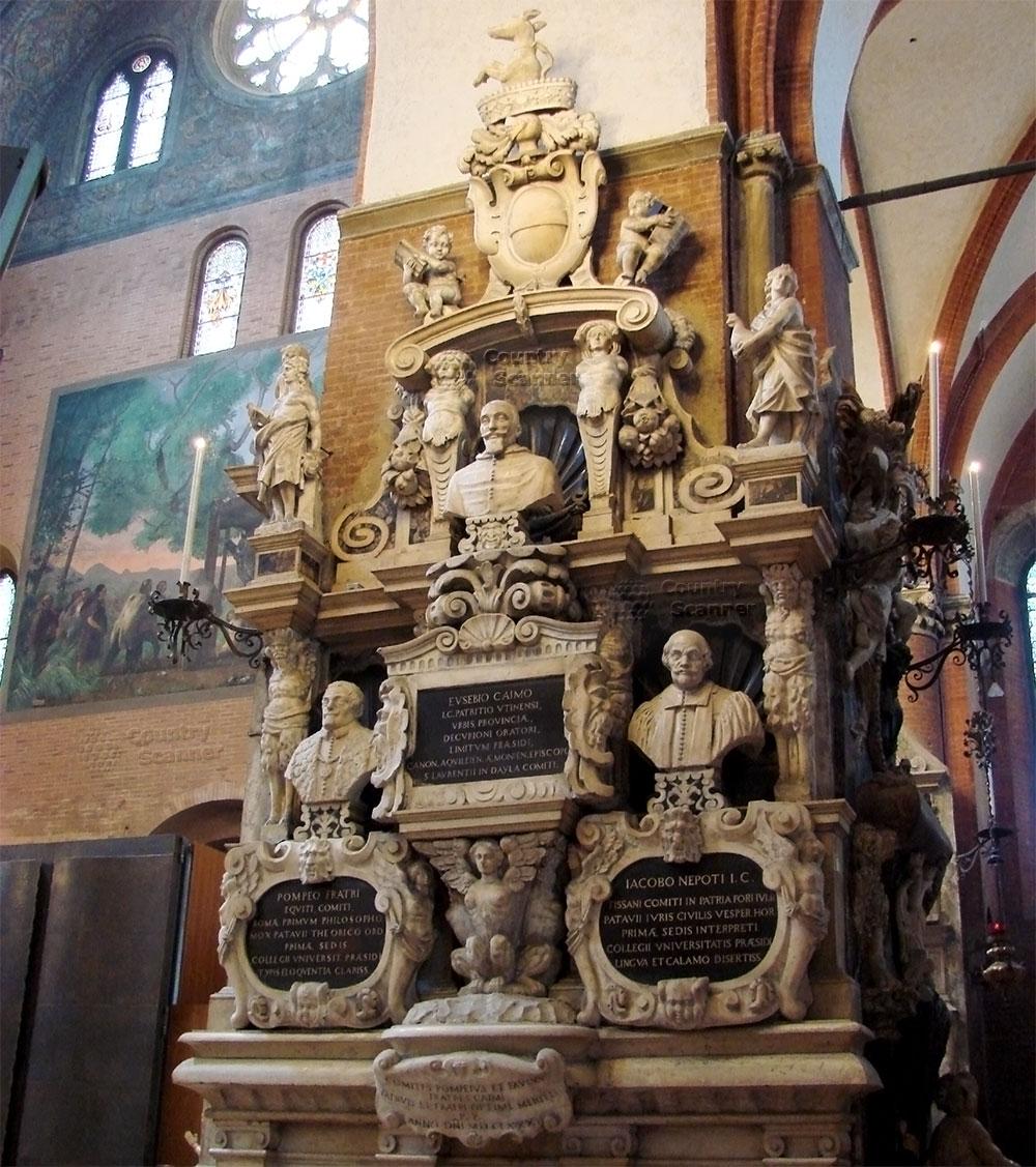 Базилика святого Антония Падуанского. Бюсты