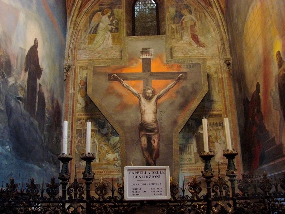 Базилика святого Антония Падуанского. Капелла