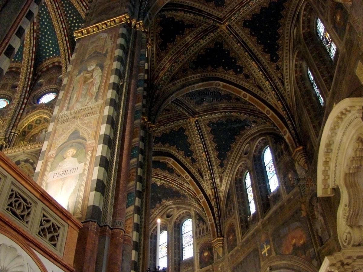 Базилика святого Антония Падуанского. Своды