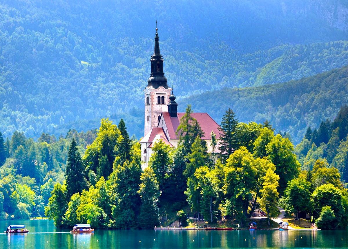 Озеро Блед. Словения.