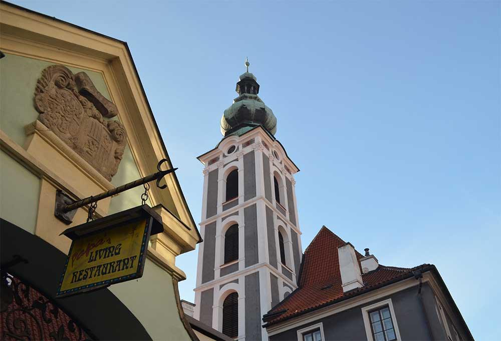 Ческе-Крумлов — живописнейший городок