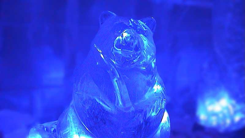 Ледяная скульптура в г. Кеми. Финляндия