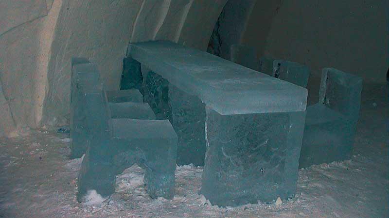 Ледяная гостиница в Финляндии