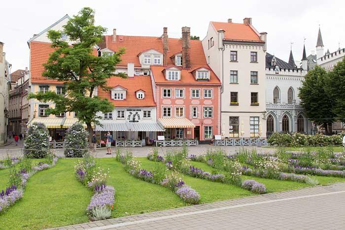 Рига, Латвия. Центр города. Статьи про пупешествия на сайте http://countryscanner.ru/