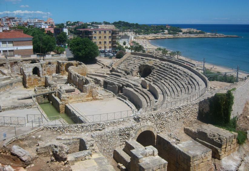 Испанский город Таррагона. Древний амфитеатр http://countryscanner.ru