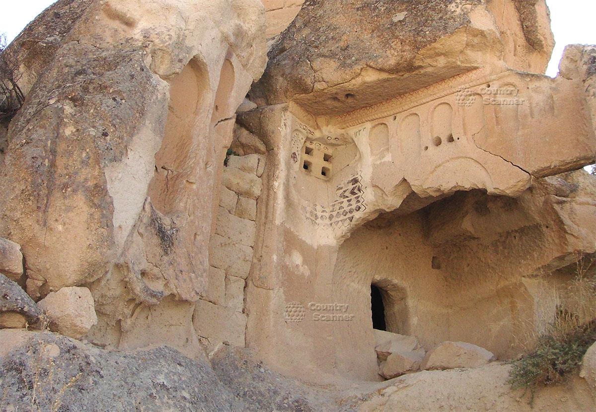 Пещеры Каппадокии. Знакомимся поближе.