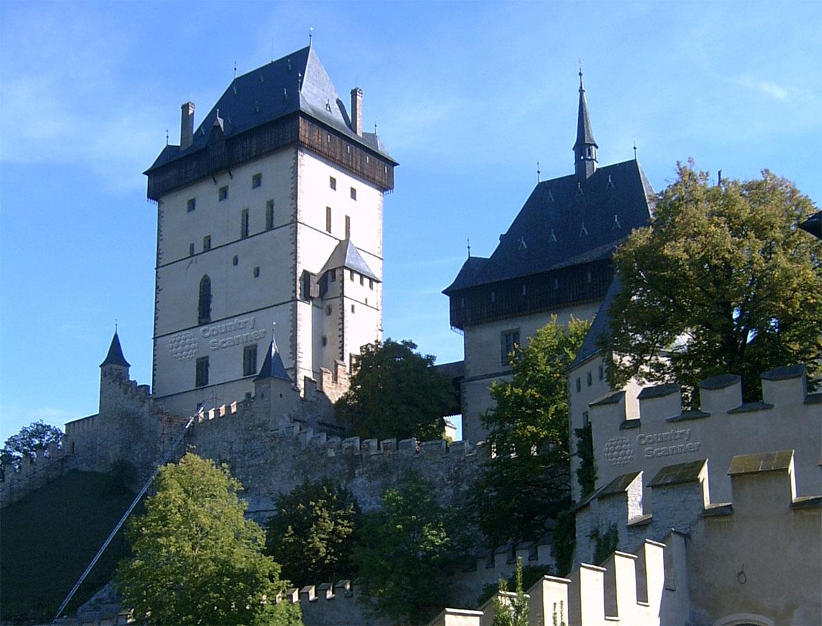 Замок Карлштейн. Чехия.
