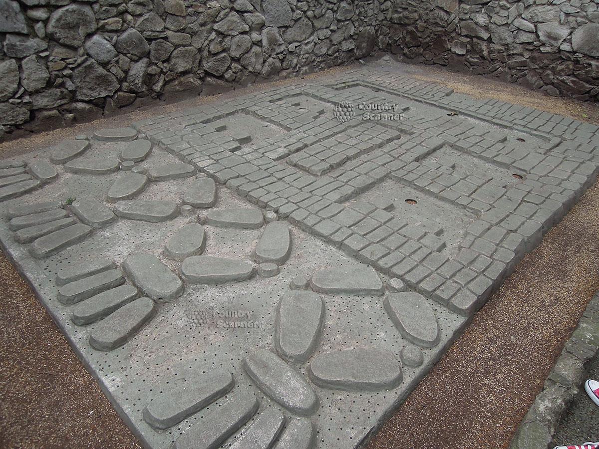 Национальный музей антропологии в Мехико. Мозаика.