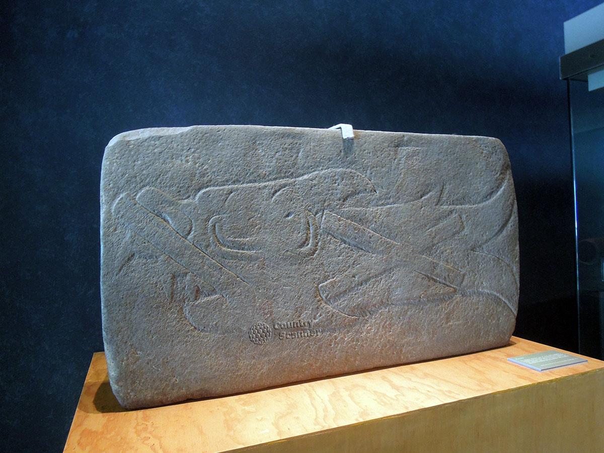 Артефакт индейской культуры в Национальном музее антропологии