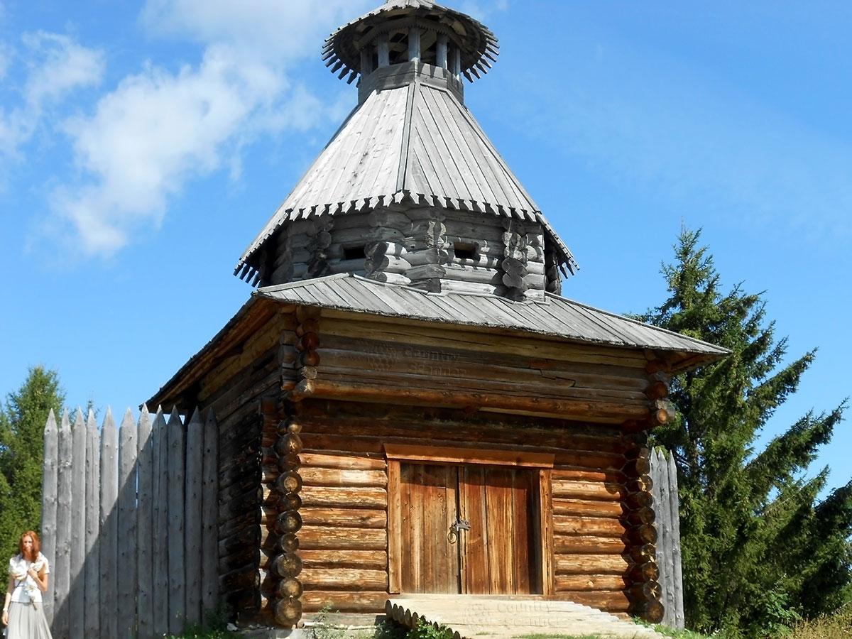 Архитектурно-этнографический музей Хохловка. Часовня