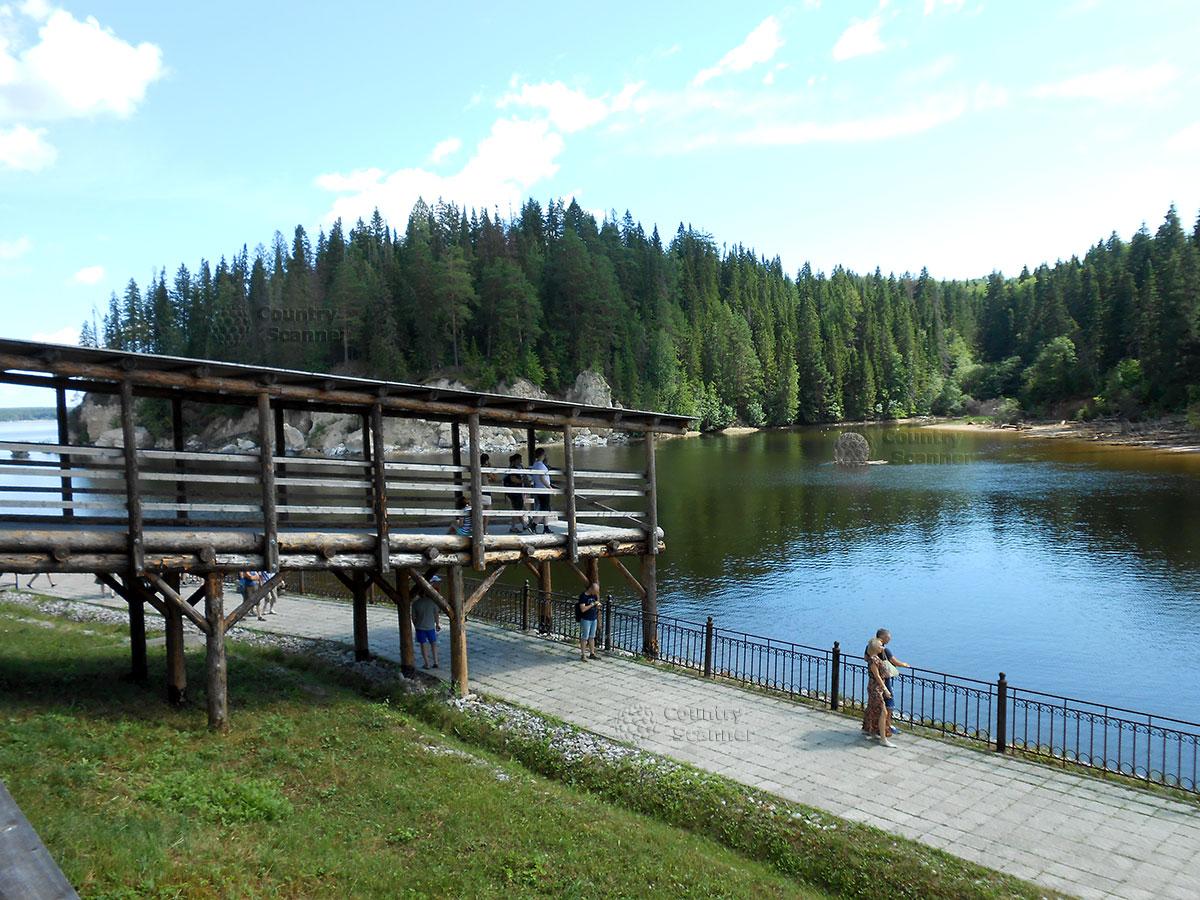 Архитектурно-этнографический музей Хохловка. Пейзаж