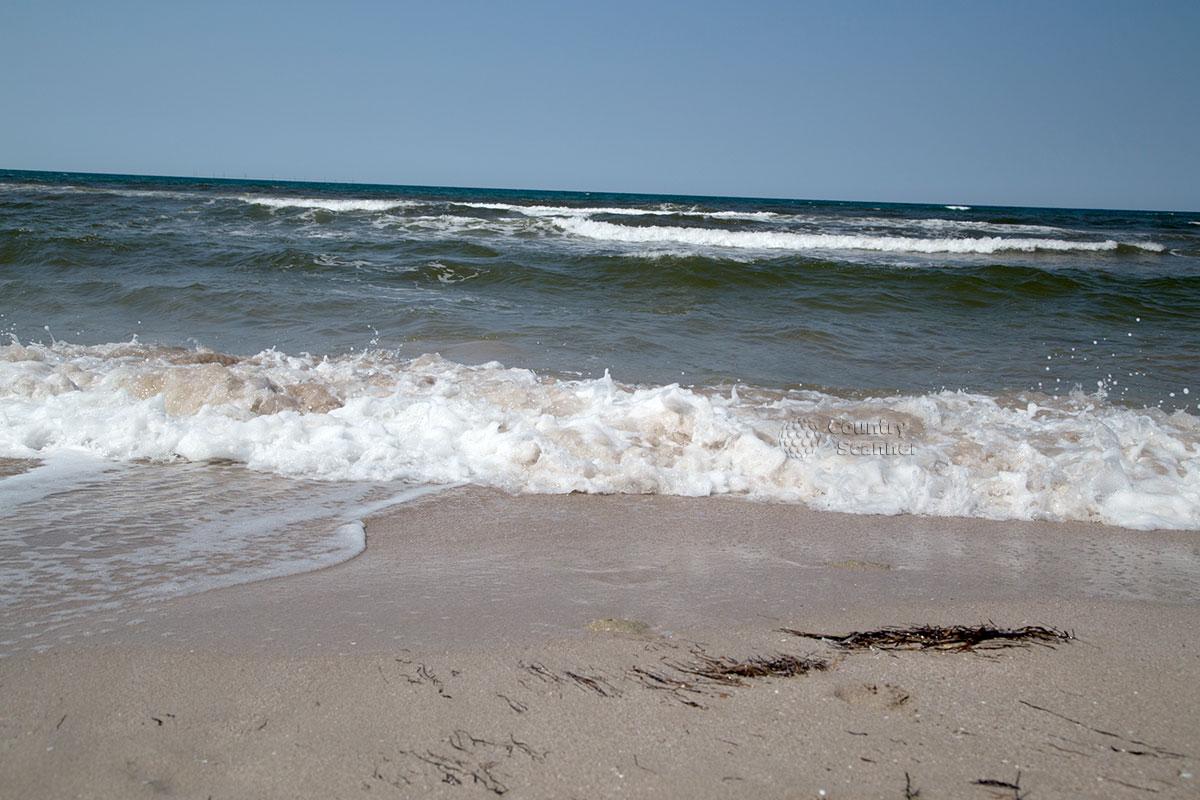 Морские виды с пляжа Оленевка.