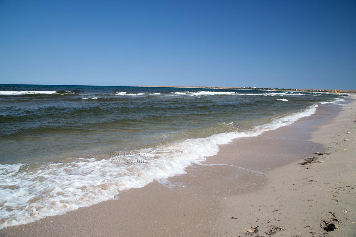 Пляж Оленевка - отдых вдали от цивилизации.