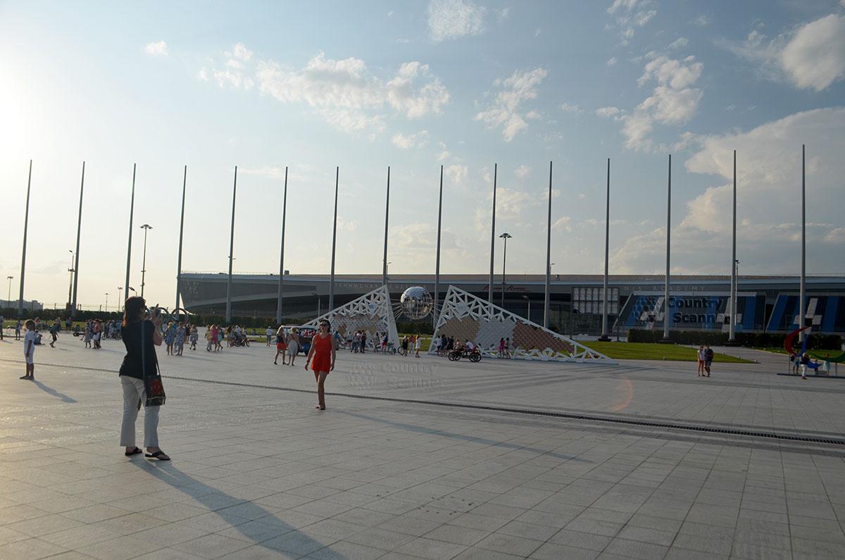 Олимпийский парк Сочи. Фотографирование на память.