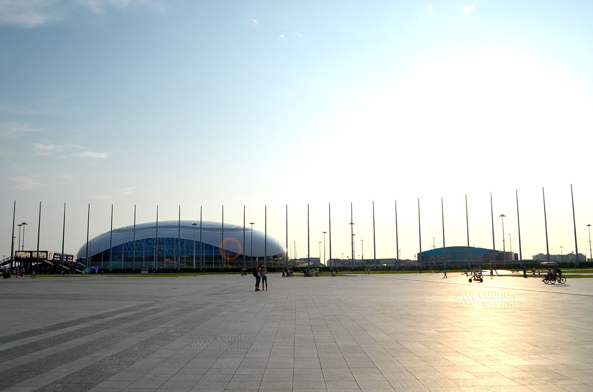 Олимпийский парк. Стадион Фишт