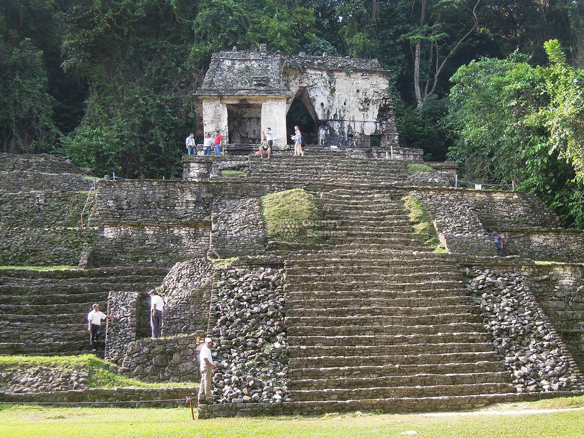 Руины Паленке. Мексика.