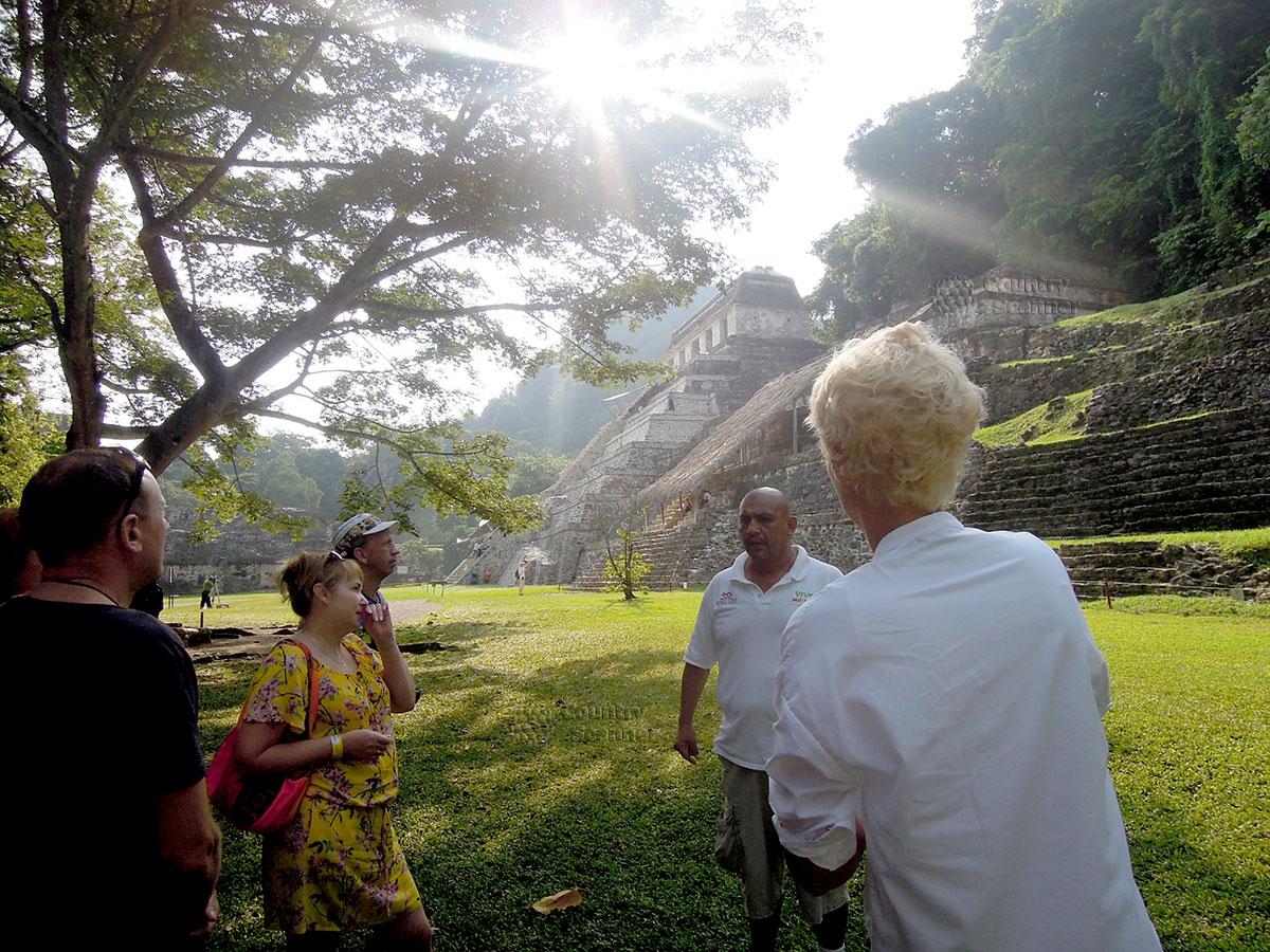 Руины Паленке в Мексике. Начало экскурсии