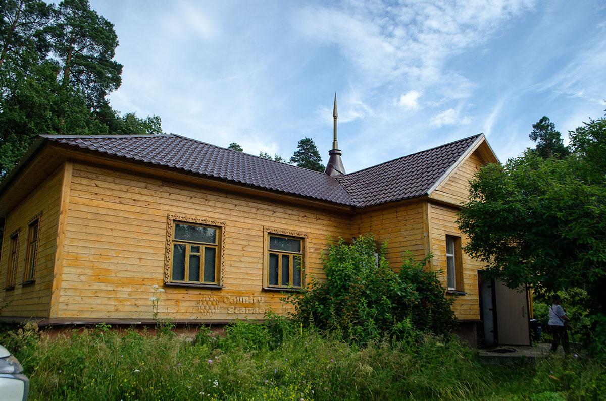 Приокско-Террасный заповедник. Здание музея природы.