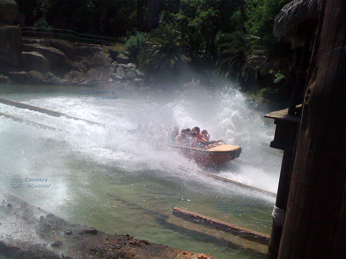 Водные развлечения в парке Порт Авентура