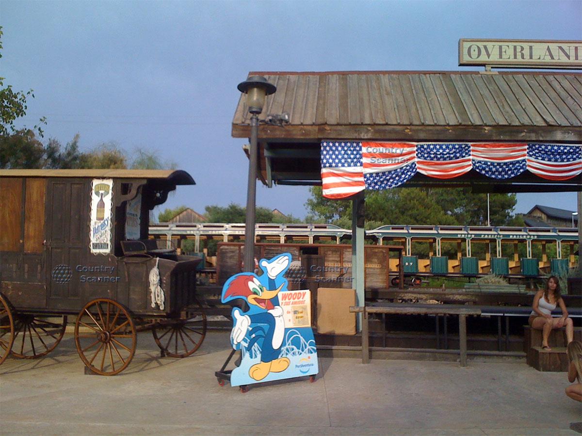 Американская зона в парке развлечений Порт Авентура
