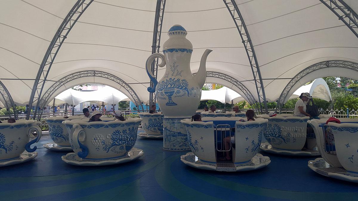 Сочи парк. Чайные чашки.