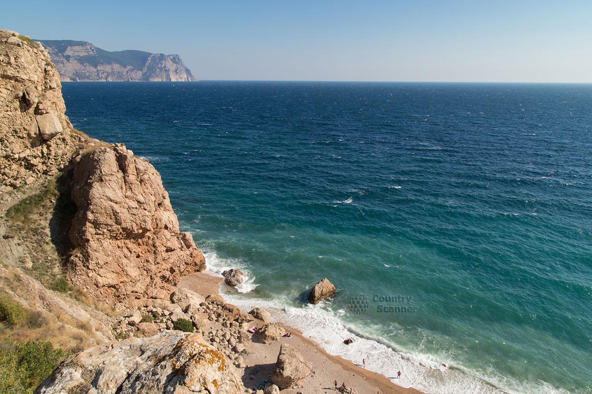 Тропа к пляжу Васили