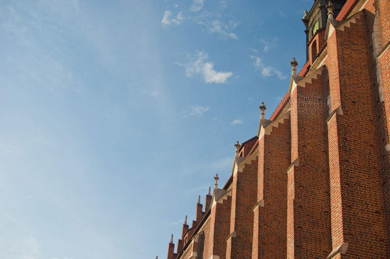 Вавельский замок в Кракове. Стена