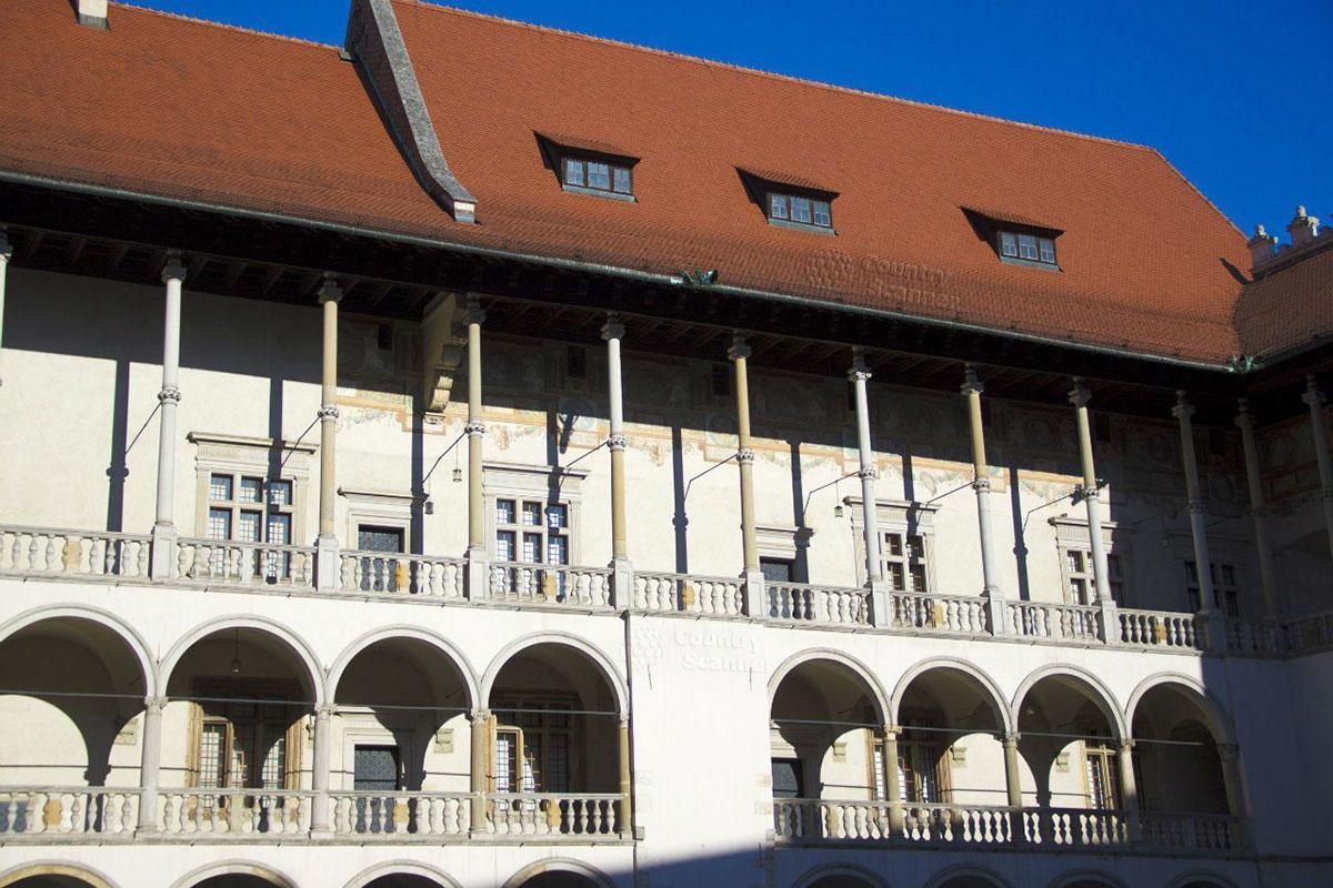 Вавельский замок в Кракове. Королевской замок.