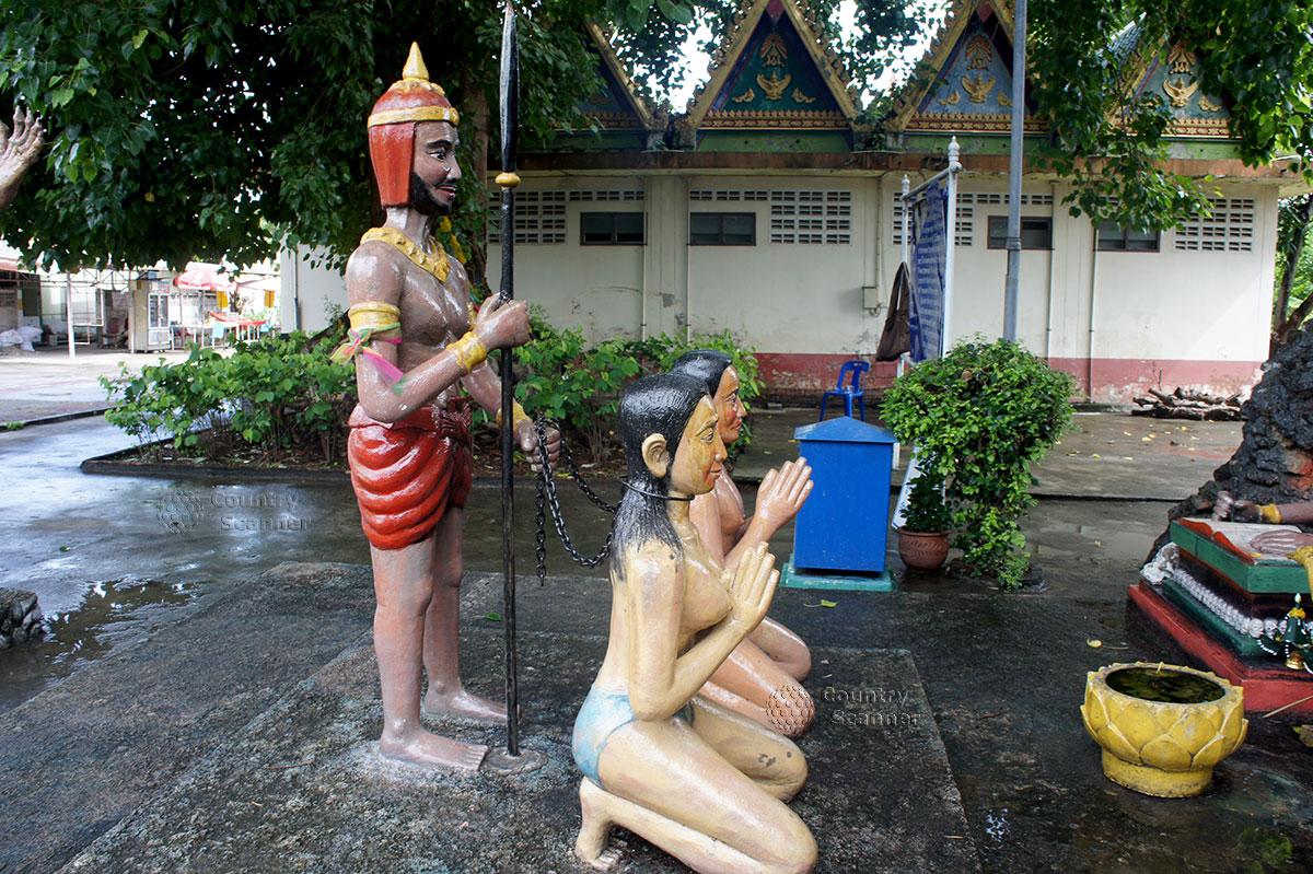 Две женщины предстают перед судом в Храме Ада и Рая
