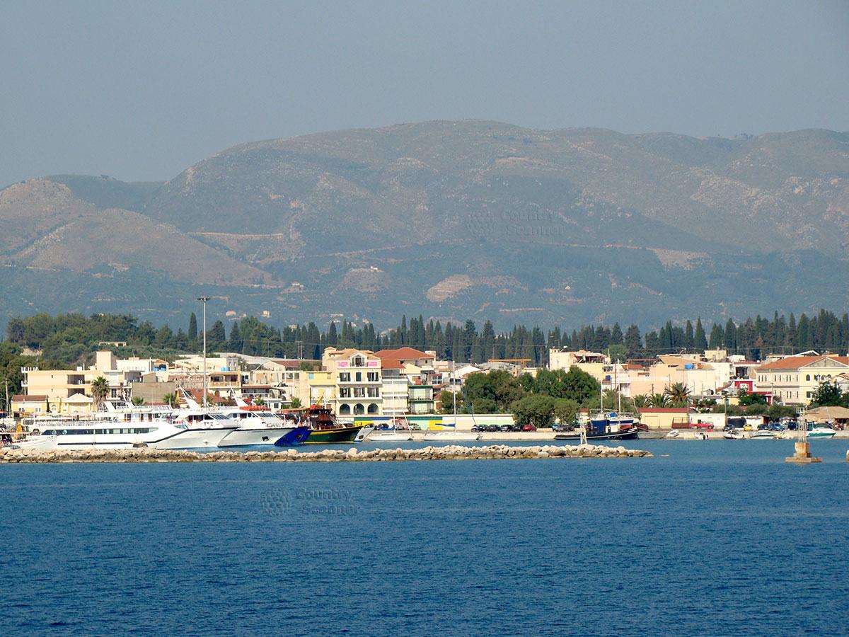 Вид на Закинтос со стороны моря